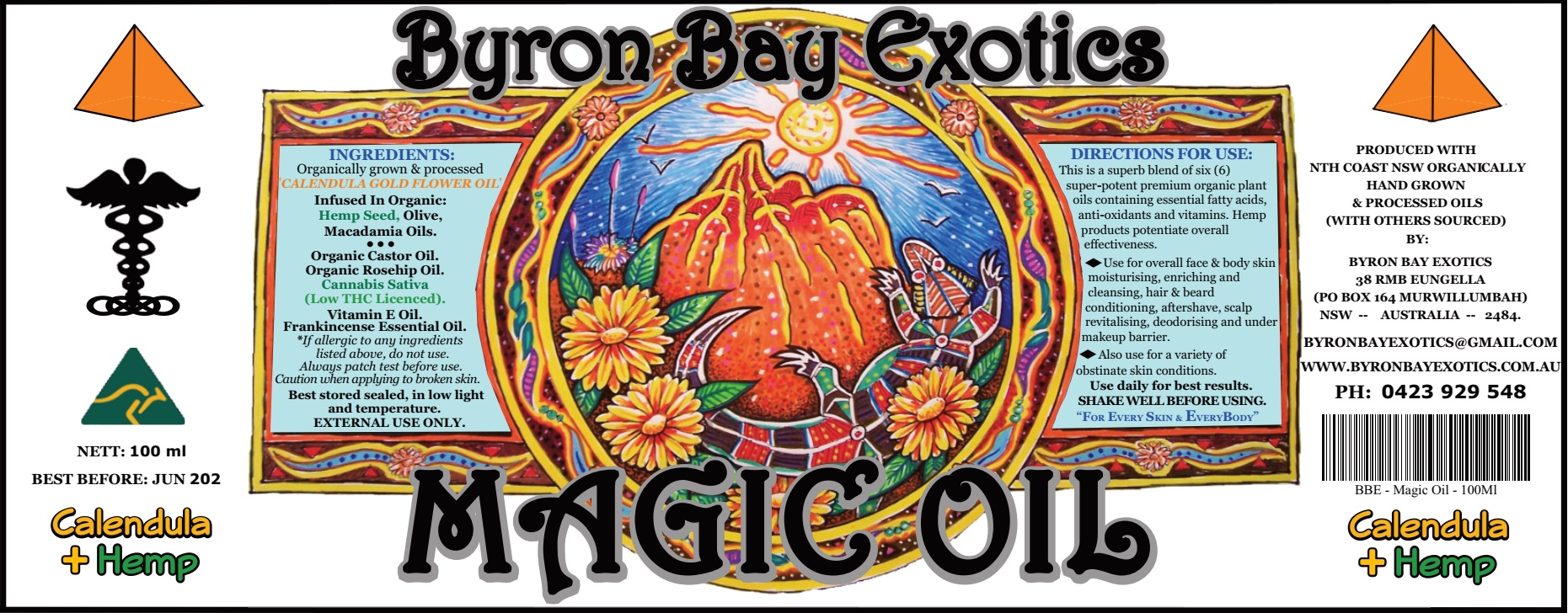 Magic Oil Byron Bay Exotics
